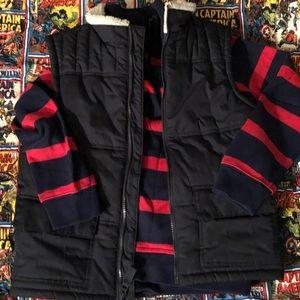 Boys Navy Gymboree 7/8 vest